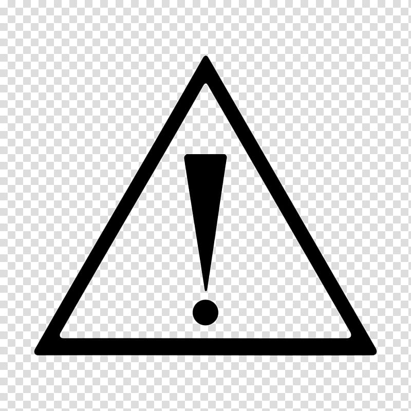 Symbolize, caution illustration transparent background PNG.
