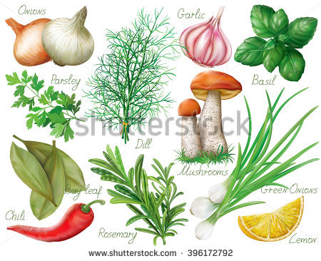 Salad Seamless Background Stock Vector 93871189.