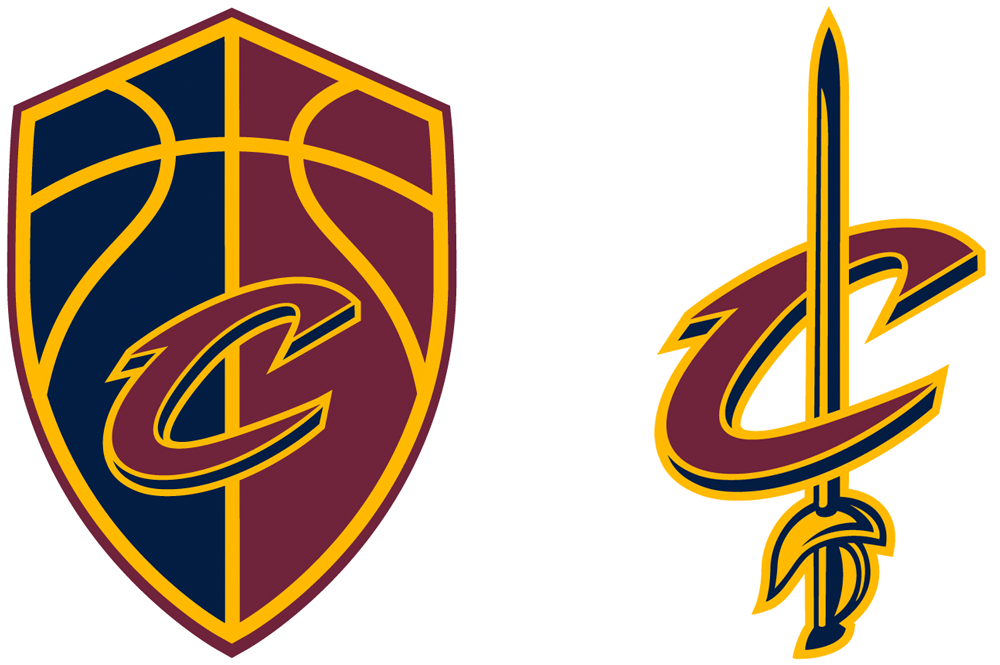 New Logos for Cleveland Cavaliers by Nike Identity Group.