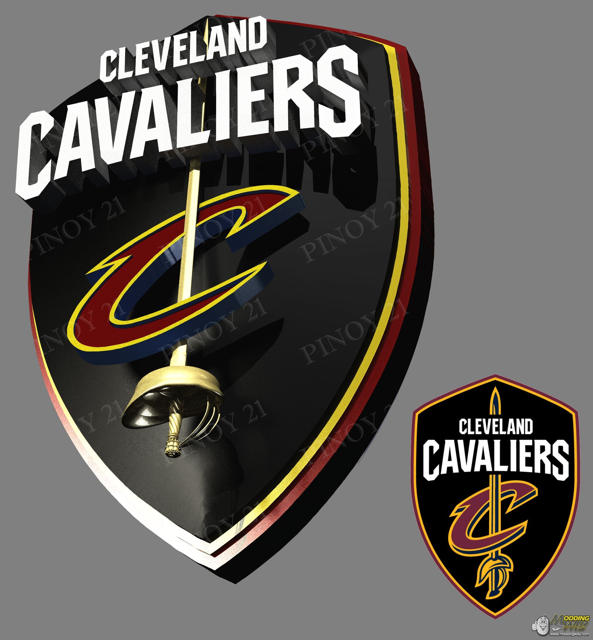 Cleveland Cavaliers new logo.