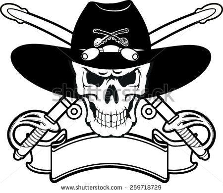 cav skull.