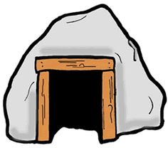 Cave clipart.
