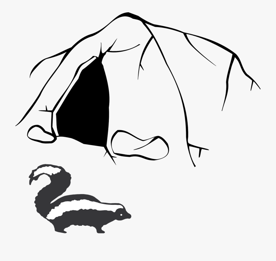 Cave Clipart Black And White , Free Transparent Clipart.