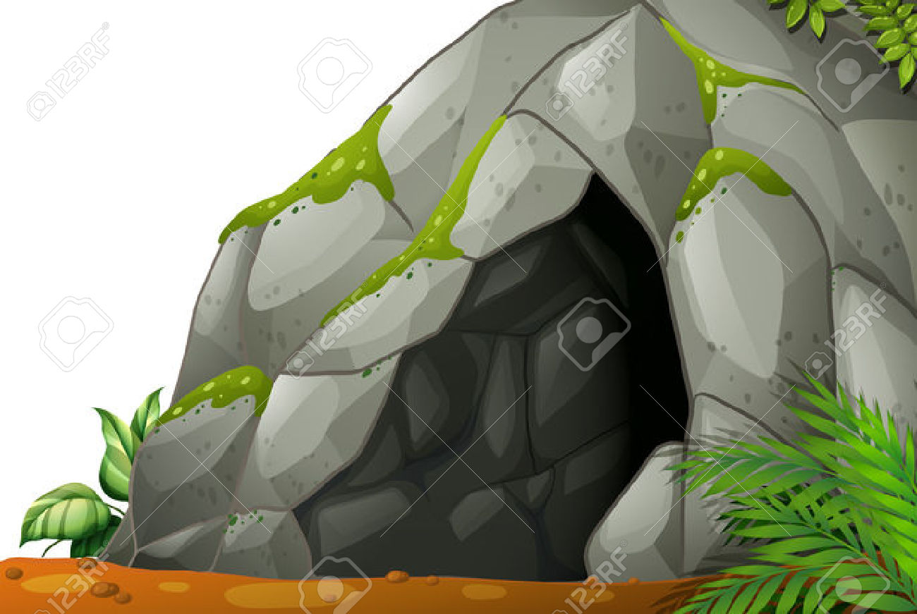 Illustration Of A Cave Royalty Free Cliparts, Vectors, And Stock.