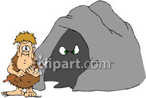 Sea Cave Clipart.