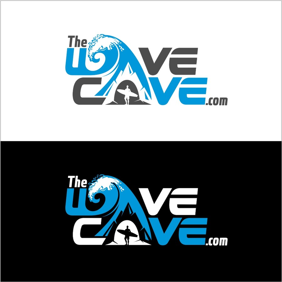 Entry #71 by arteq04 for Design a Logo for The Wave Cave.