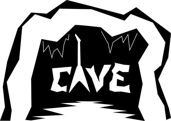 The Cave Logo.