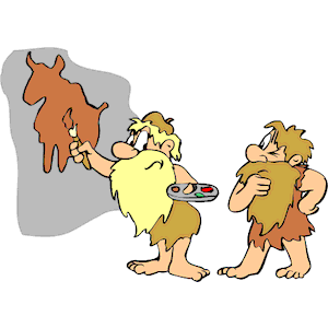 Cave Painter clipart, cliparts of Cave Painter free download (wmf.