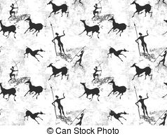 Cave painting Clipart and Stock Illustrations. 633 Cave painting.