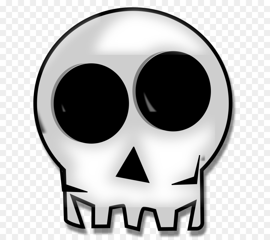 Skull Icon clipart.