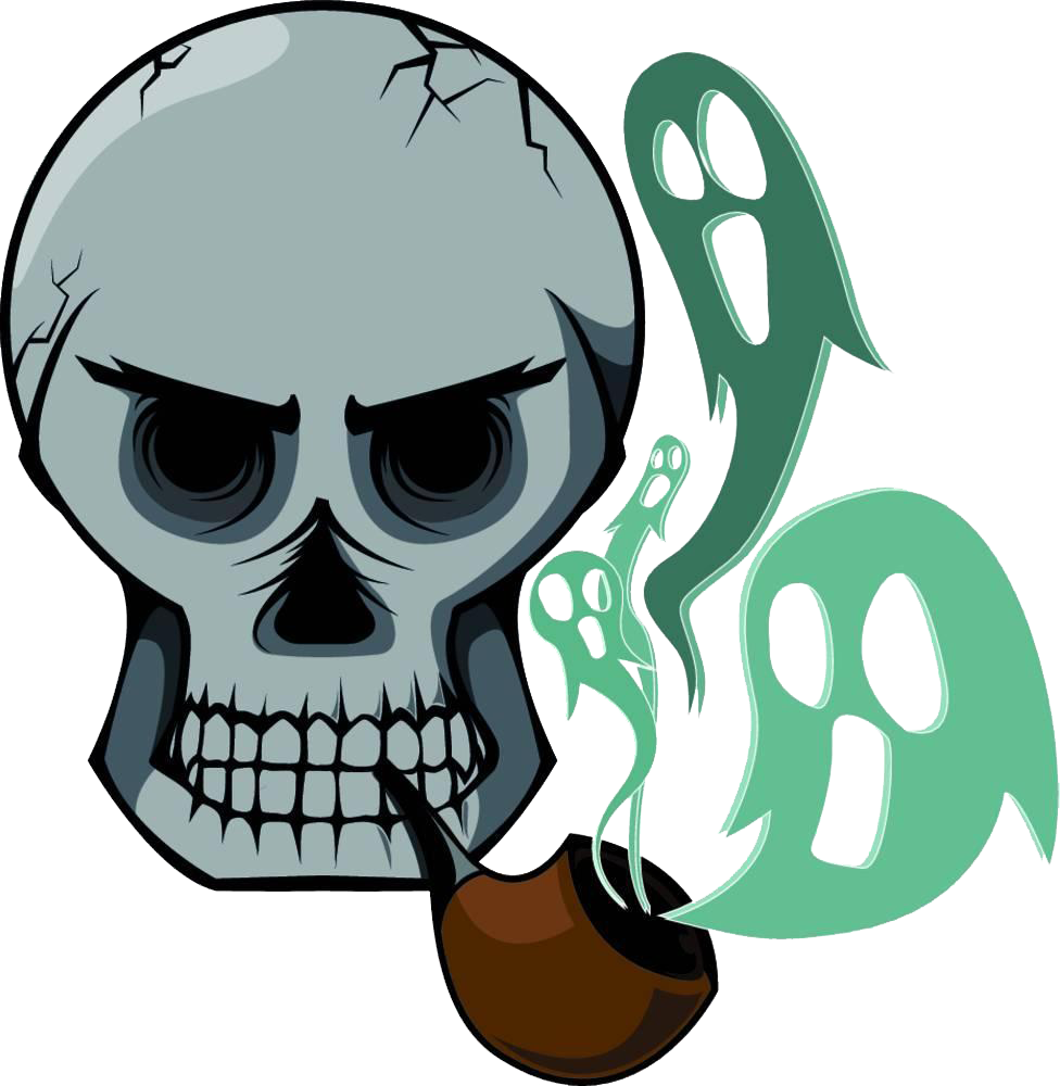 Cigarette Smoking Skull Stock Photography The Is.