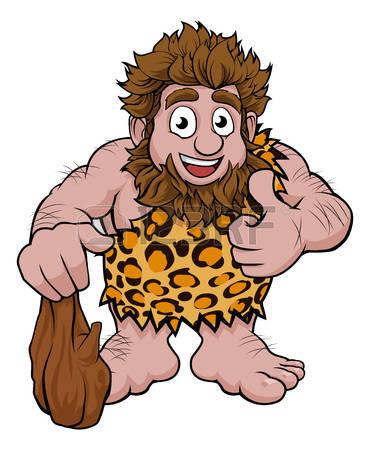 Caveman clipart #3