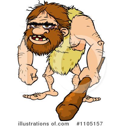 Caveman Clipart #1105157.