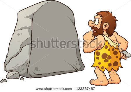 Caveman Stock Images, Royalty.