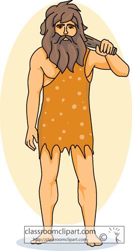 Caveman images clipart.