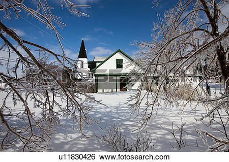 Stock Images of Anne of Green Gables Post Office in Avonlea.