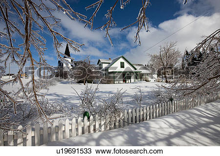 Stock Photo of Anne of Green Gables Post Office in Avonlea Village.