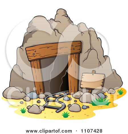 Caves buildings clipart #14
