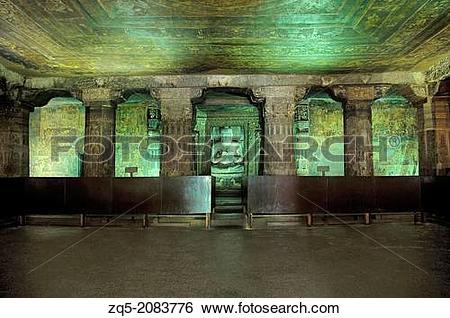 Stock Images of Cave 17: Sanctum.