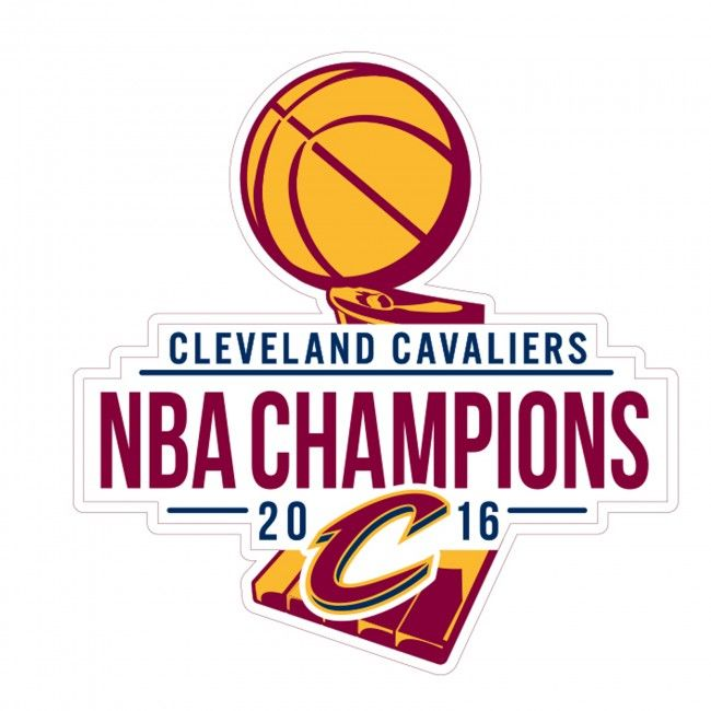 2016 Official NBA Finals Champions Cleveland Cavaliers.