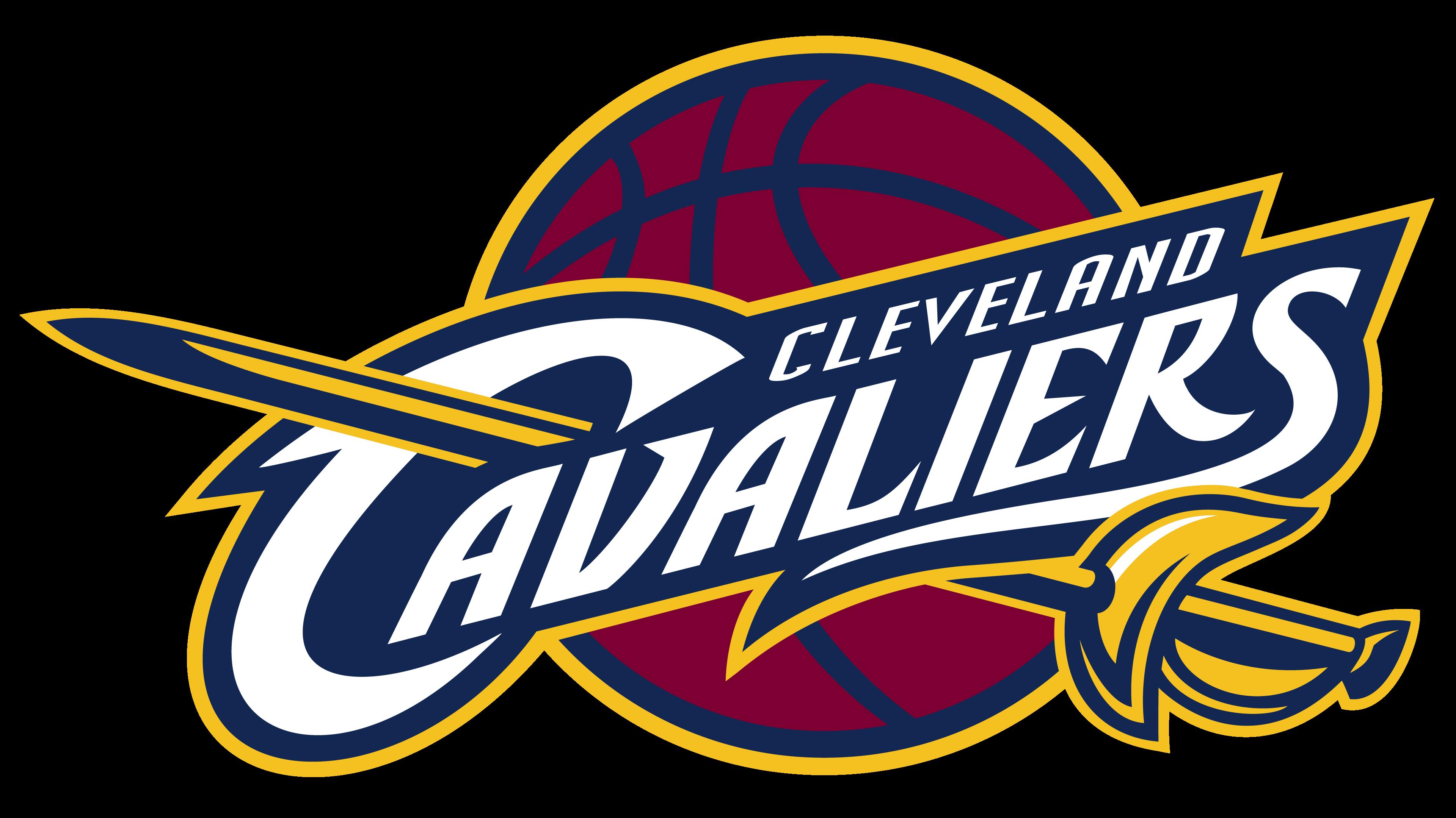Cleveland Cavaliers logos.