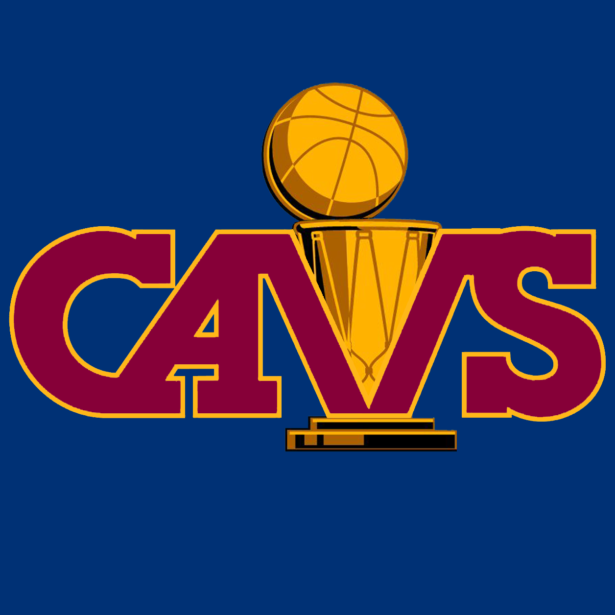 Present Cavs Colors.
