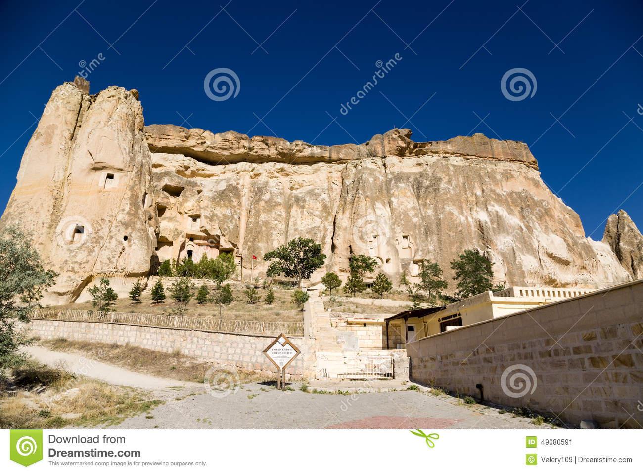 Turkey, Cappadocia. Church Of St. John The Baptist In The Cavusin.