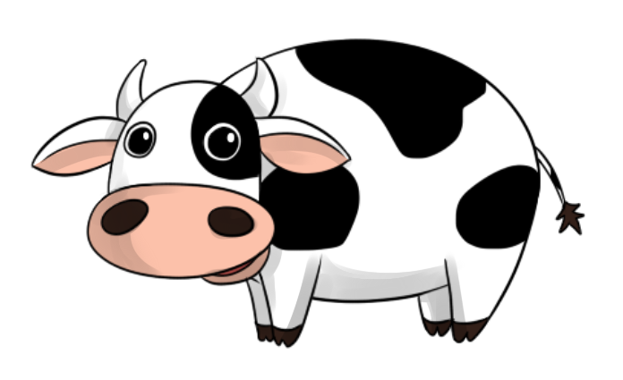 Animated Cows Pictures.