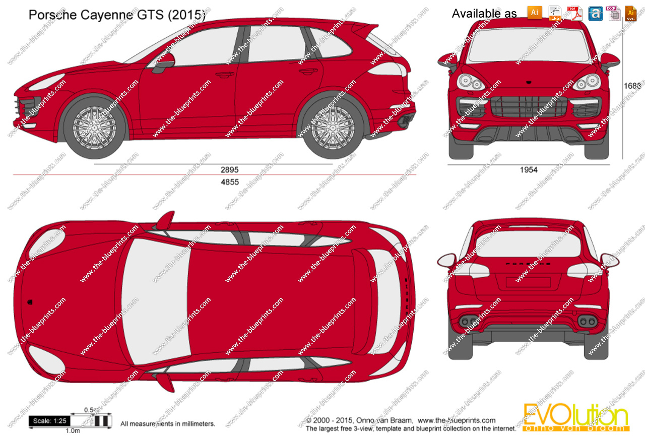 Porsche cayenne gts clipart.