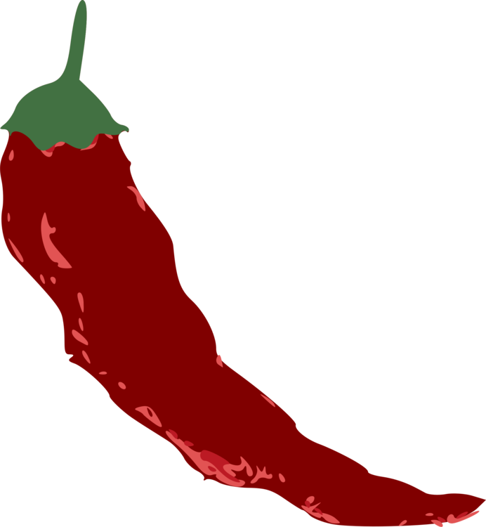 Chili Pepper,Plant,Food Vector Clipart.