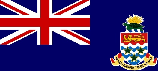 Flag Of The Cayman Islands clip art Free vector in Open office.