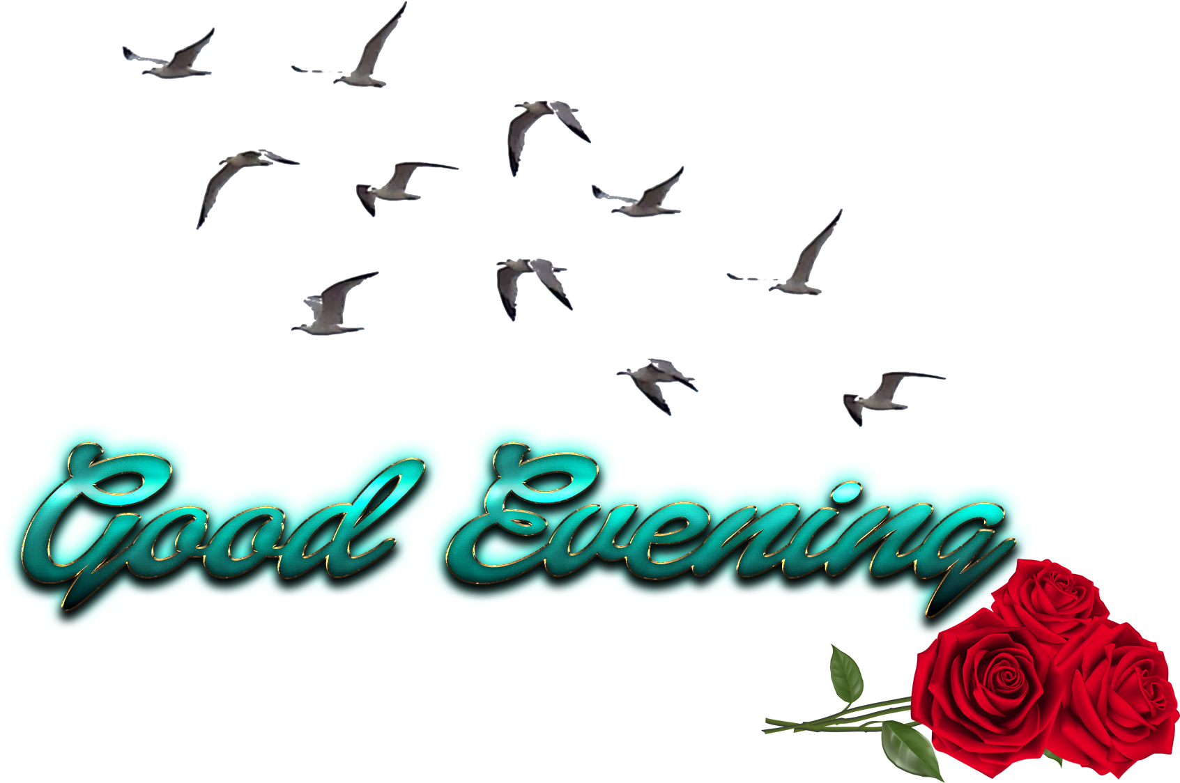 Download Good Evening Free Png Image.