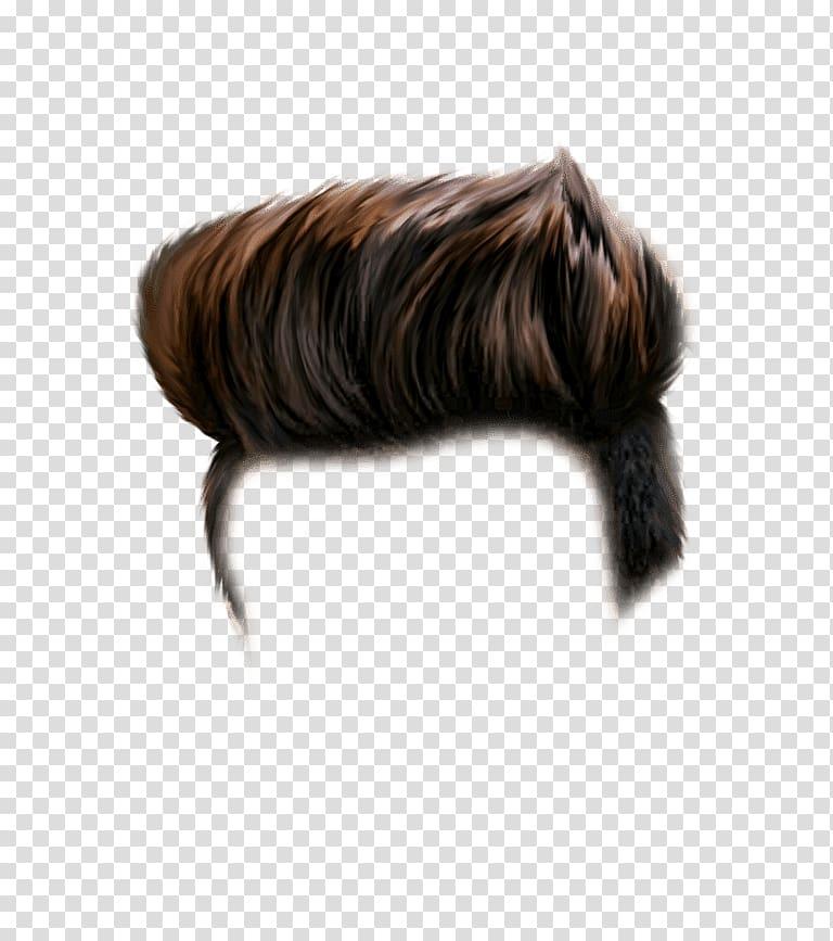 Brown hair illustration, PicsArt Studio editing, Cb Editing.