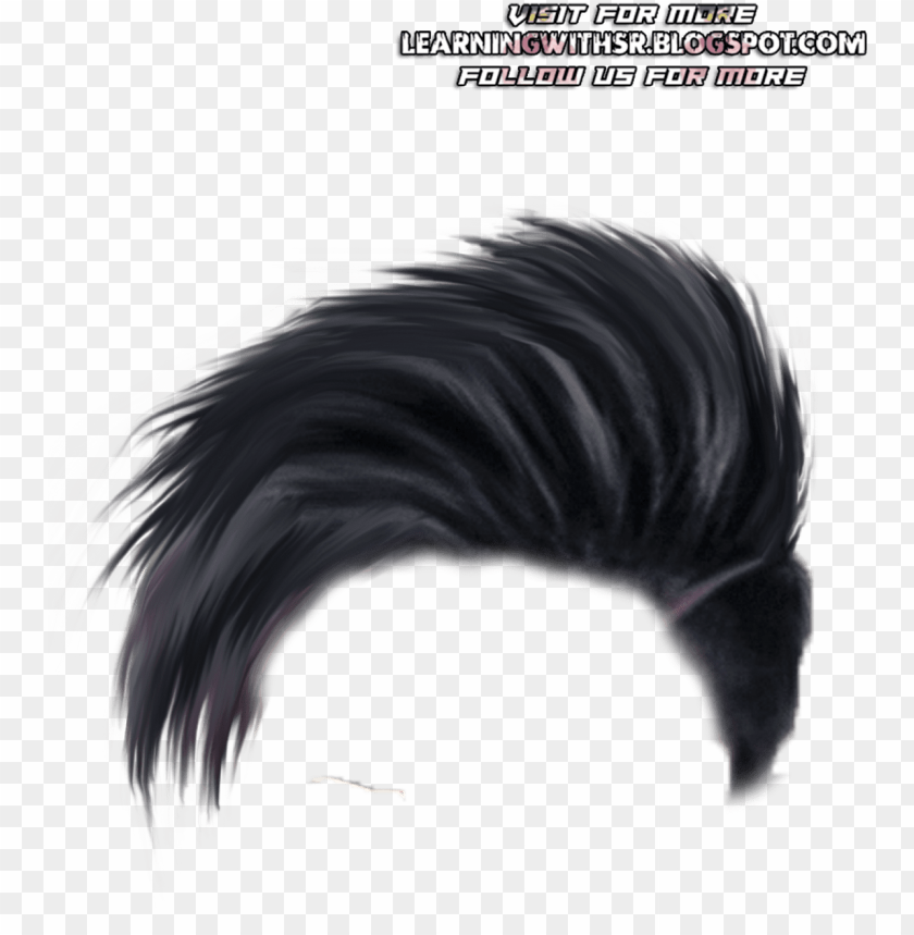 cb hair png for picsart PNG image with transparent background.