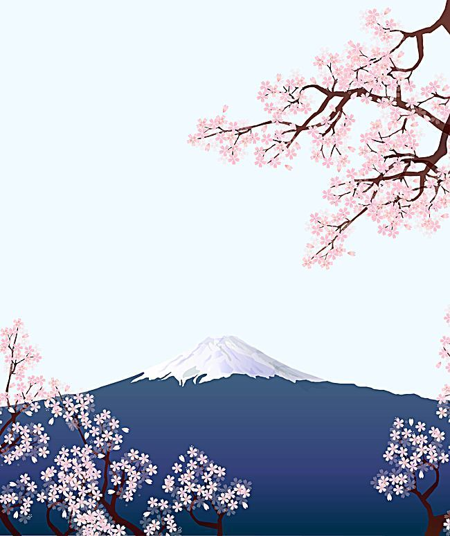 Mount Fuji Clipart Japan Wallpaper.