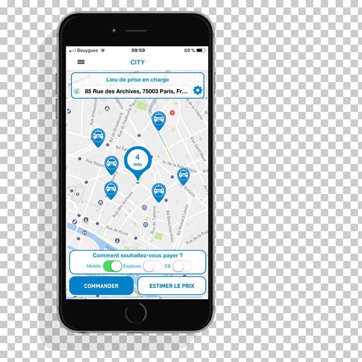 Smartphone Tako: L\'appli des 55 000 taxis App Store Apple.