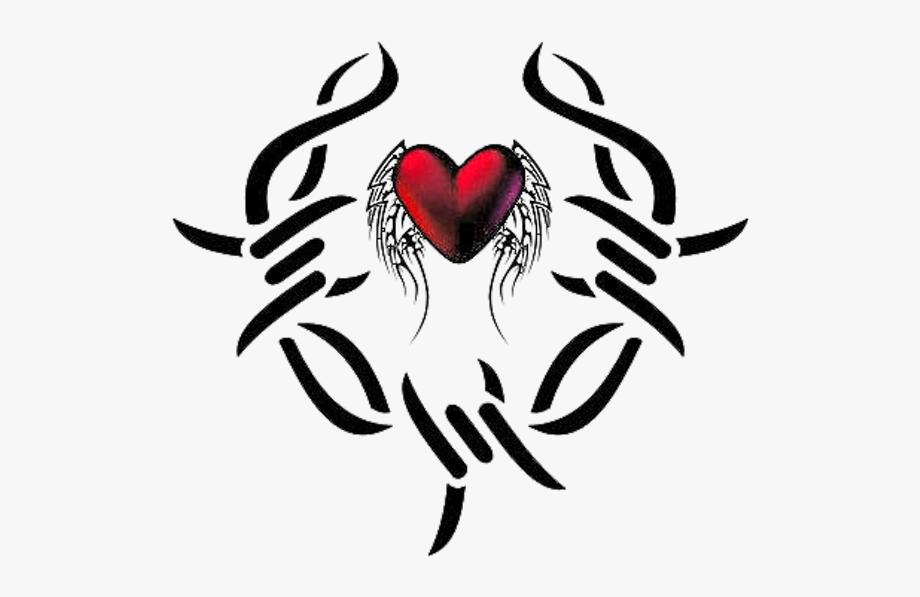 Heart Tattoo Clipart.