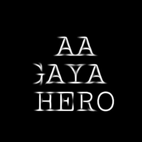 Hinglish Love Text PNG Picsart CB editing HD AA Gya Hero.