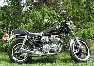 Honda CB650 custom.