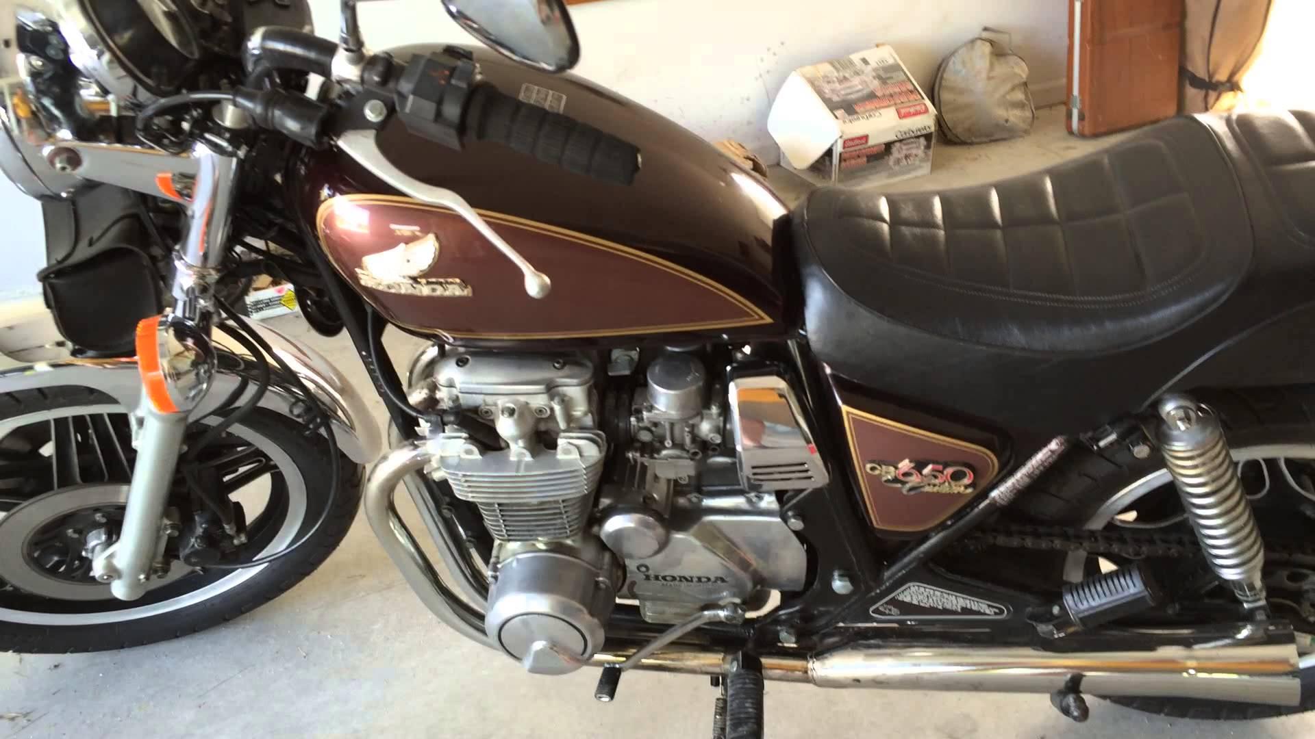 Carburetor Leak Honda CB650 Custom video 1.