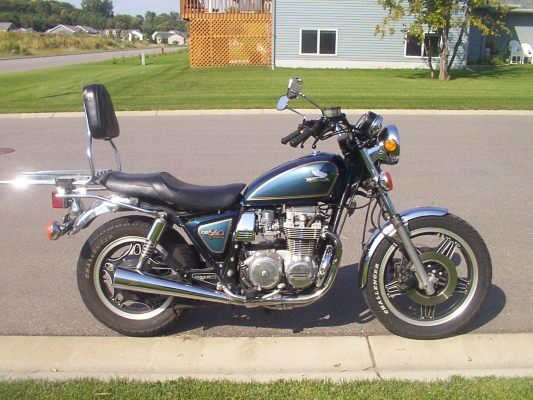 1981 Honda CB650 Custom.