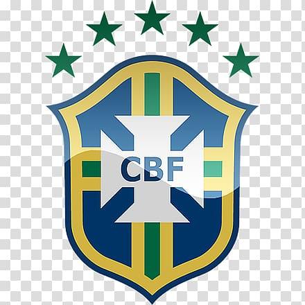 CBF logo, Brazil national football team 2014 FIFA World Cup.