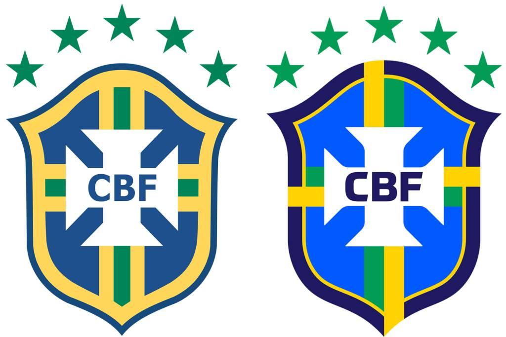 CBF, Juventus, Athletico… as mudanças de escudo que dividiram.