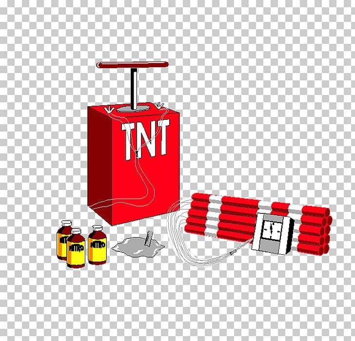 Explosive material TNT Bomb C.