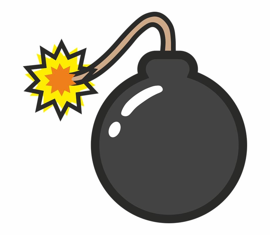 Bomb Comic Explosion Pop Popart Boom Tnt Explode.