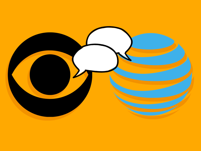 CBS is ready to talk with AT&T after trading blame for.