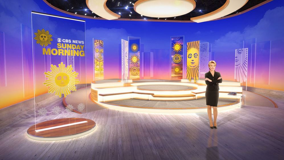 CBS Sunday Morning Gets Its First New Set in 39 Years.