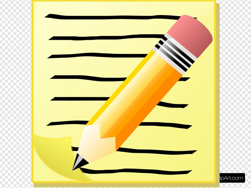 Notepad Clip art, Icon and SVG.