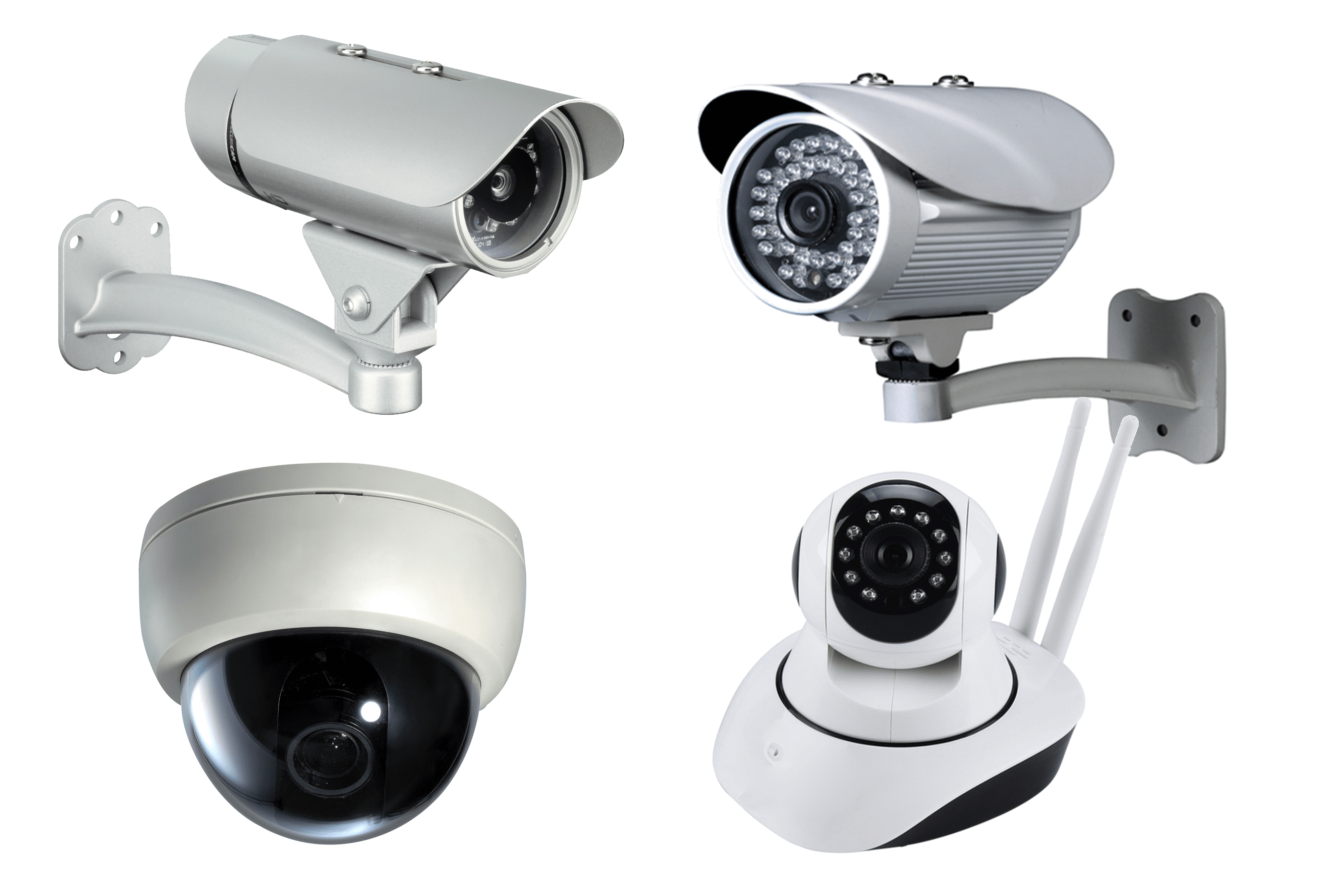 Surveillance Security Cameras.
