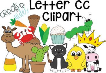 Letter Cc Clipart.